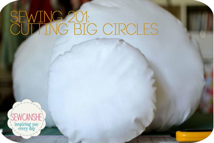 How to Cut Big Circles – a Must-Know Sewing Hack!
