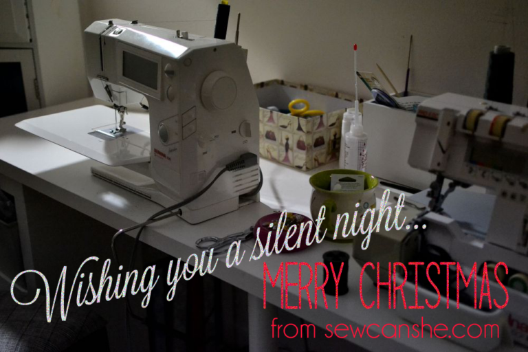 After all is stitched and wrapped and tucked away… Merry Christmas!