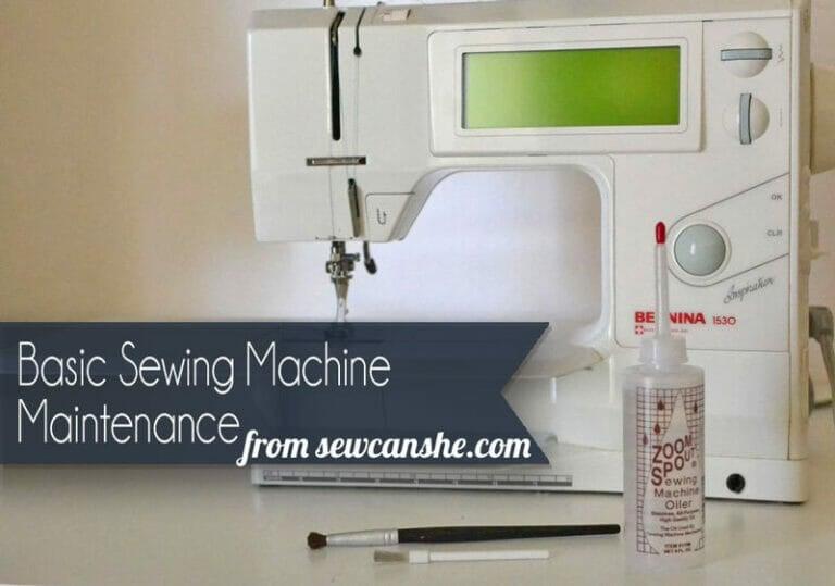 Basic Sewing Machine Maintenance Tips