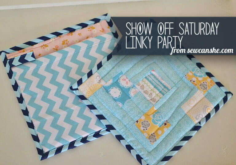 Sewing Pot Holders from Extra Quilt Blocks
