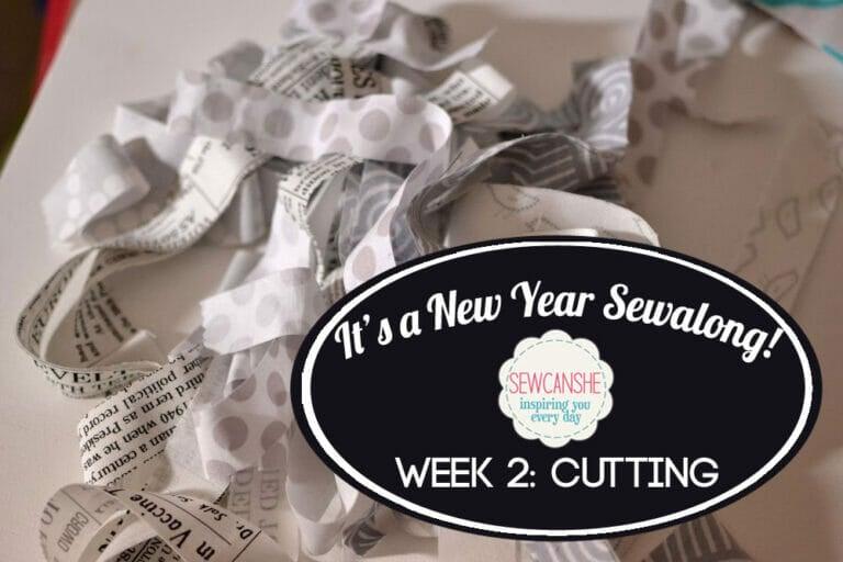 It's a New Year Sewalong Part 2: Let's Cut!