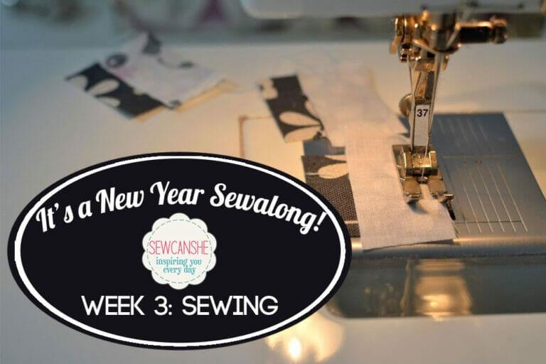 It's A New Year Sewalong Week 3: Sewing!
