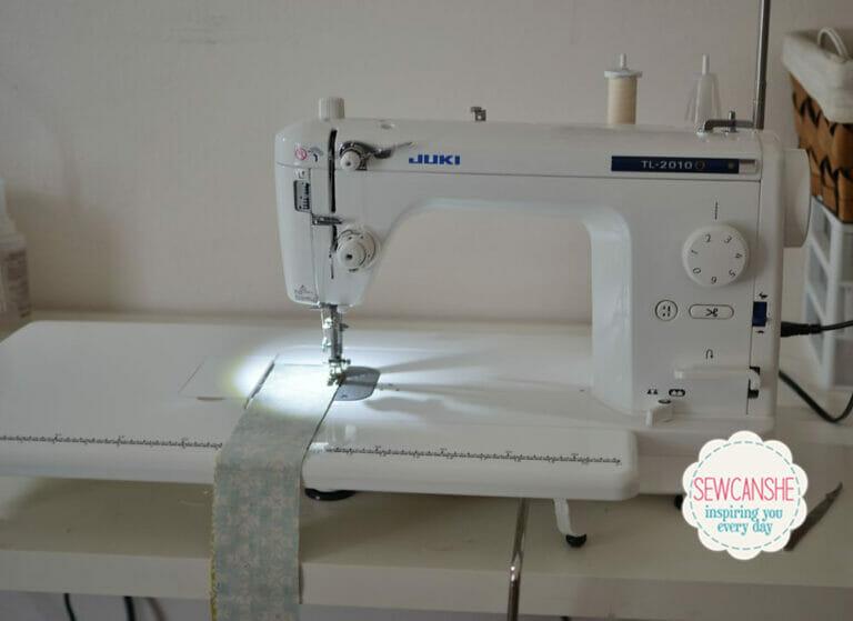 My new Juki TL-2010Q Straight Stitch Sewing Machine
