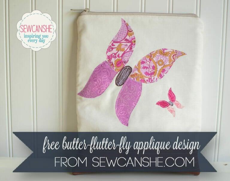 Free Butterfly Applique Pattern