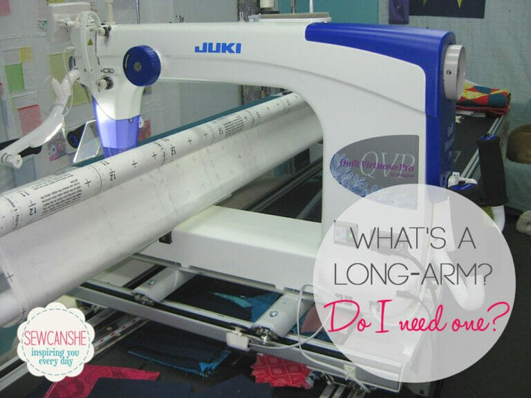 Do you need a long arm quilting machine? Answers to all your questions!