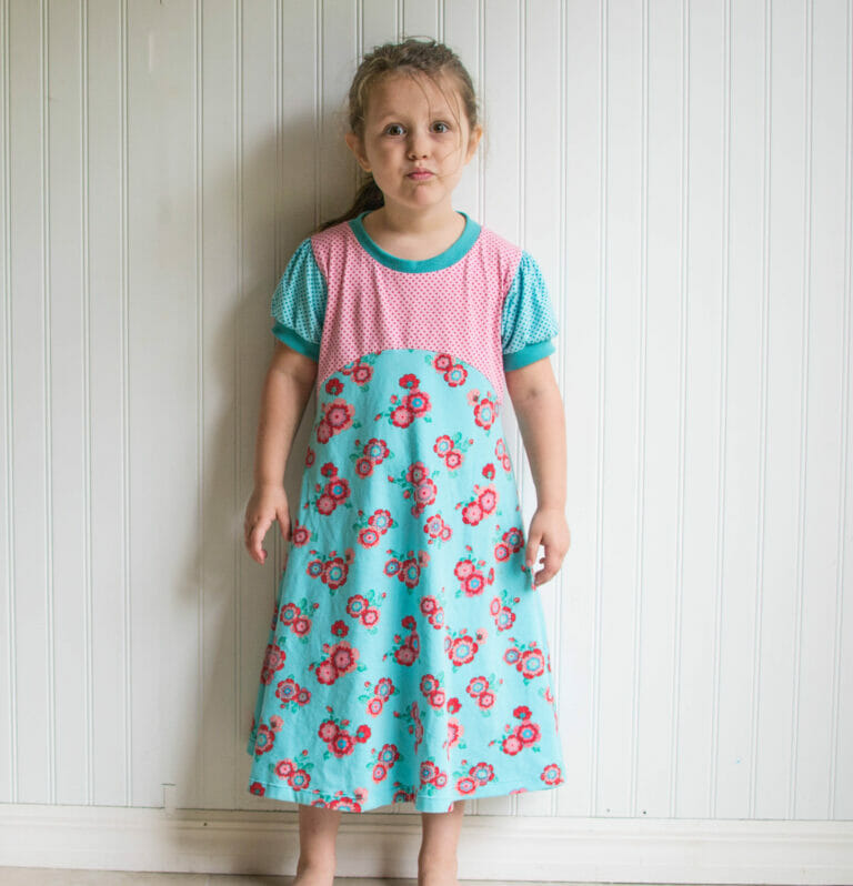 Sewing the Playhouse Dress from Fishsticks Designs