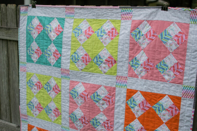 My Pop Rox Quilt is finally done!