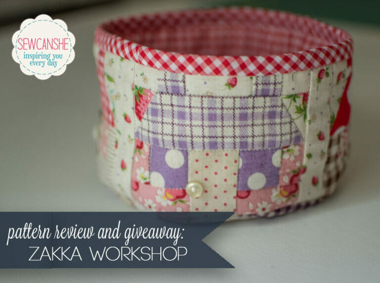 Pattern Review and Giveaway: Zakka Workshop