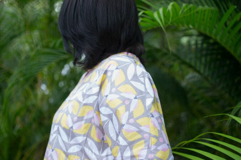 Show Off Saturday and my Tea Blossom Tunic