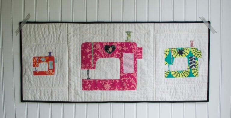 Sewing Machine Applique Pattern
