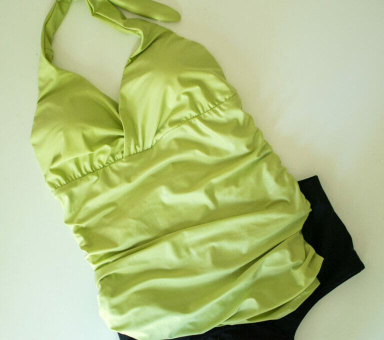 Pattern Review: Sewing a 2 Piece Bathing Suit Pattern from Ottobre Design
