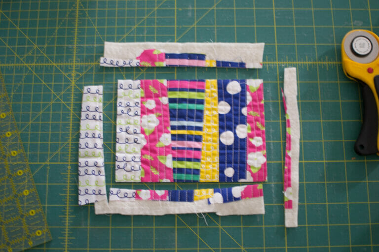How to make QAYG fabric – for totally cute projects!