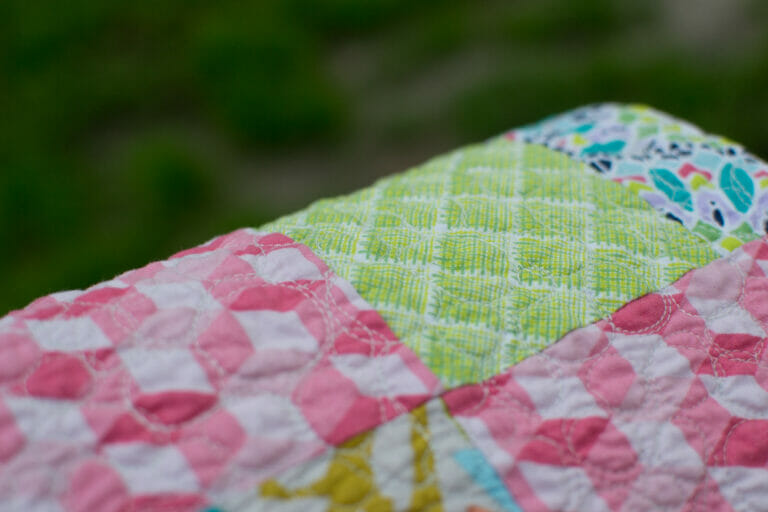 Show Off Saturday: My finished Rail Fence Quilt