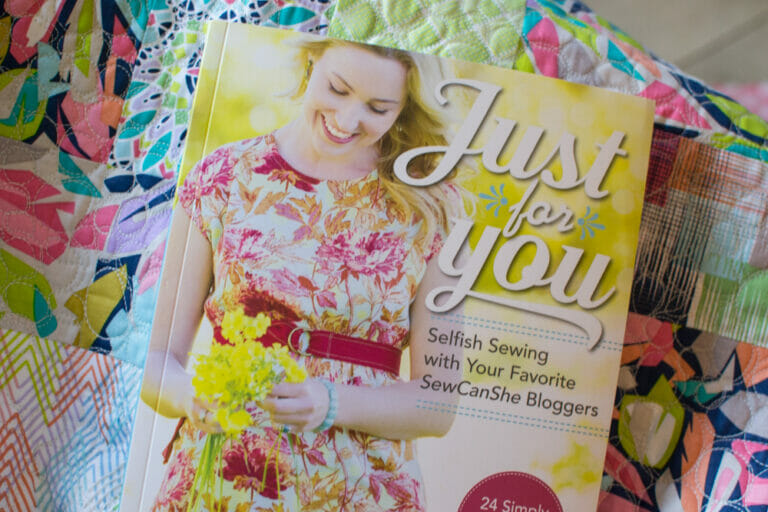 Curling up with a Quilt and a my book Just For You!