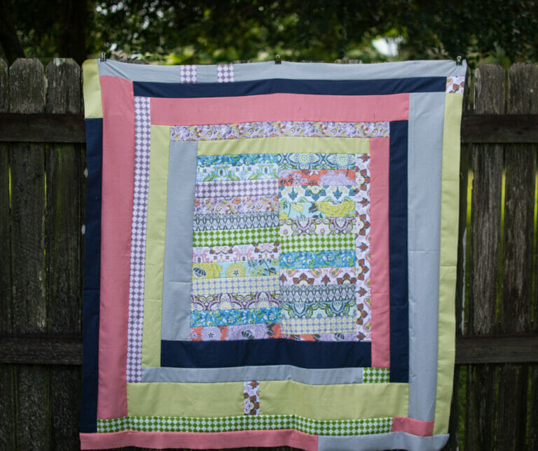 Show Off Saturday: my Gee's Bend Inspired Quilt