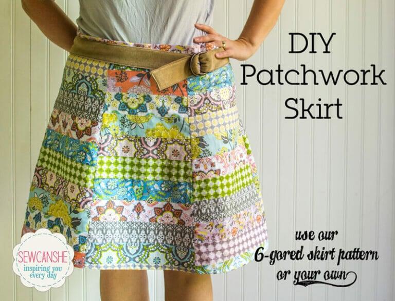 DIY Patchwork Skirt