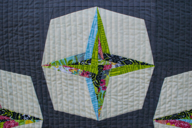 My 'Starry Eyed' Quilt is going to QuiltCon!