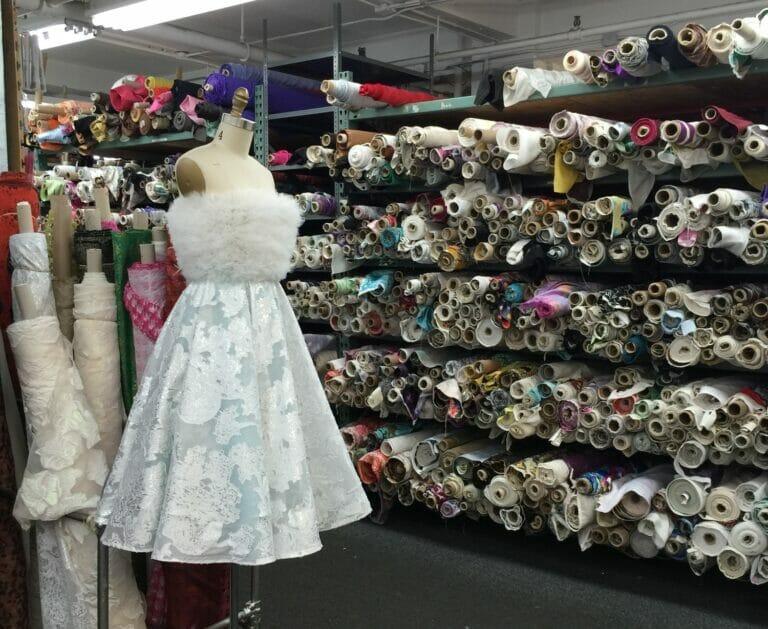 NYC – fashion, fabric, and Christmas!
