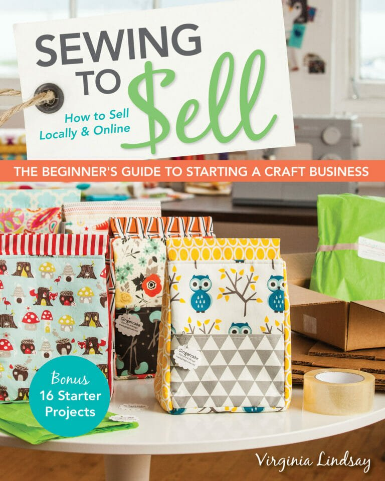 Book Review & Giveaway: Sewing To Sell by Virginia Lindsay