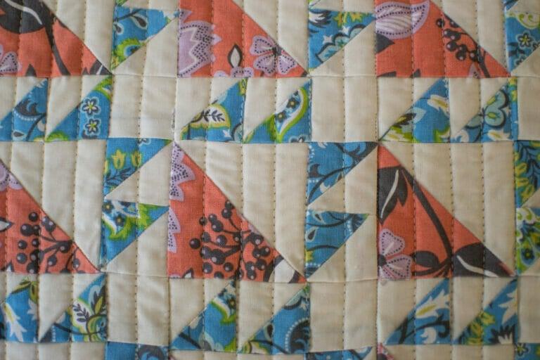 Classic Blocks: Fresh Fabric for December… the Bear Paw