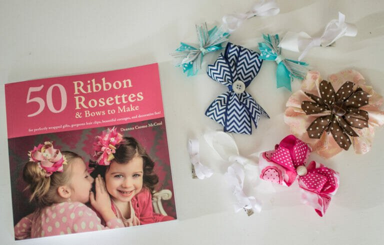 Book Review & Giveaway: 50 Ribbon Rosettes and Bows to Make