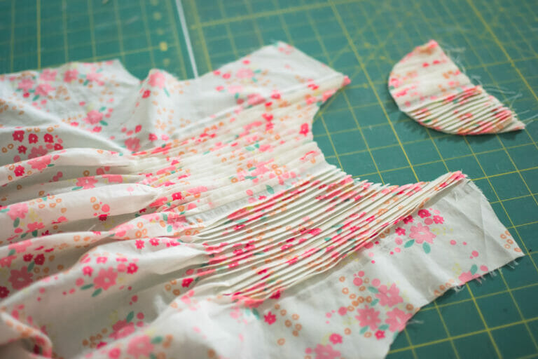 Sewing an Easter Dress With Tucks – Pattern from Ottobre Design Magazine