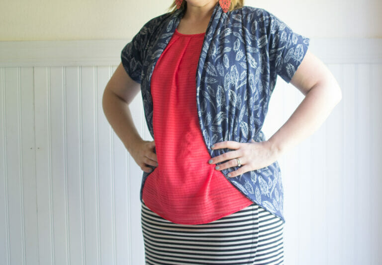 My Julia Cardigan for Selfish Sewing Week!