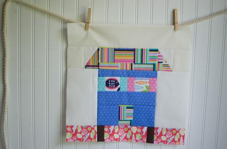 Classic Blocks: Fresh Fabric for May… a (beach) House Block!