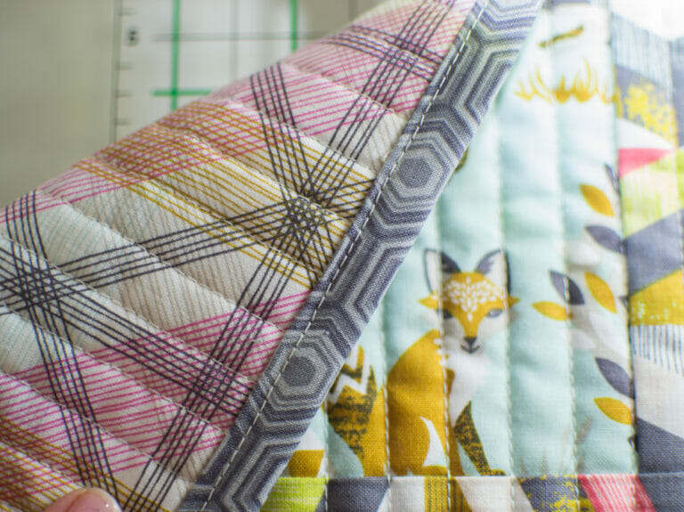Beautiful Quilt Binding with your Sewing Machine – no hand sewing required!