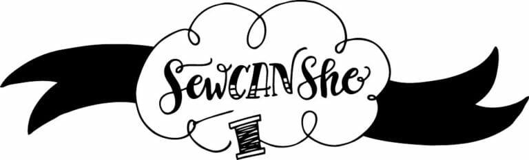New SewCanShe Logo Thanks to Joy Kelley!