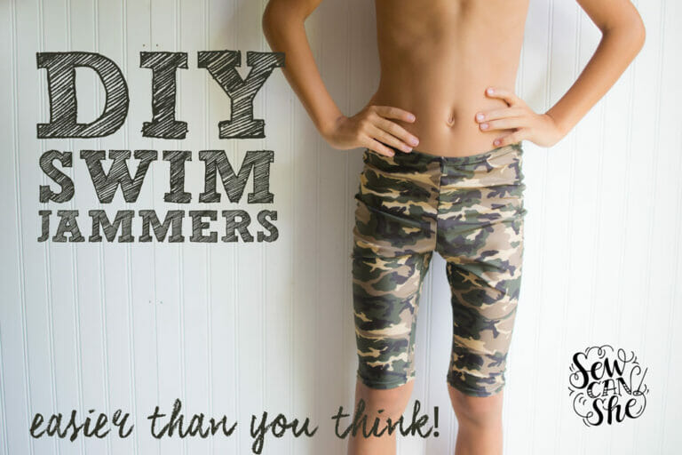 How to Sew DIY Swim Jammers (easier than you think)