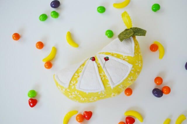 How to Sew Fresh N' Fabulous Citrus Pin Cushions