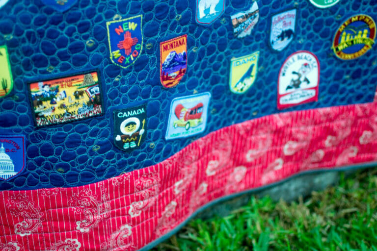 Show Off Saturday: A Memory Quilt of Patches