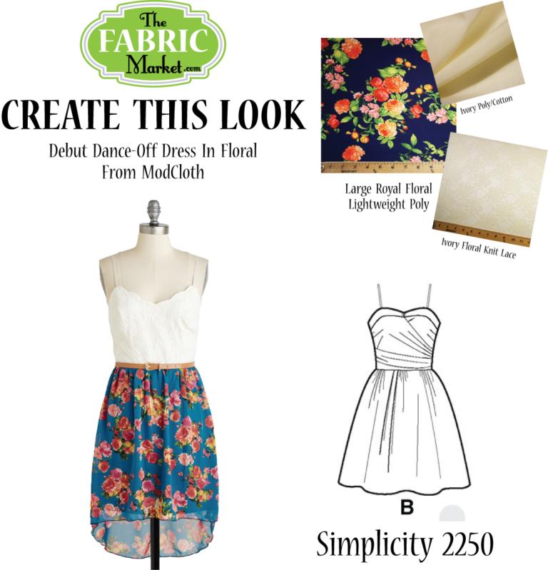 Create This Look! Debut Dance-Off Dress