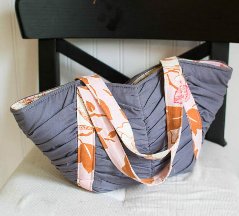 Pattern Review: The Mini Tulip Tote!