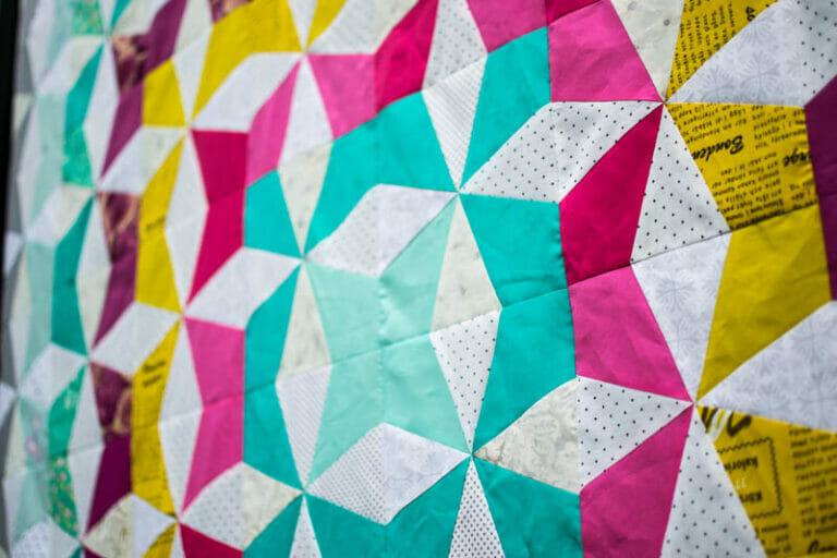 Splash of Color – the book that taught me paper piecing! Book Review