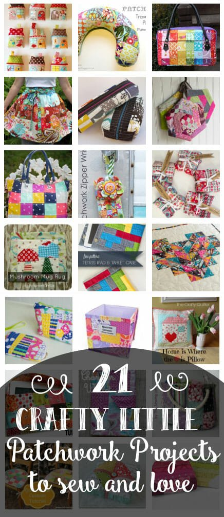 21 Crafty Little Patchwork Projects to Love! All Free