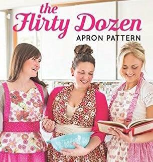 My Flirty Dozen Apron Pattern is Here! {Win 1 of 3 copies}