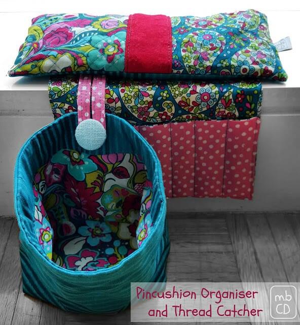 Sew a Fast and Easy Pincushion Organizer