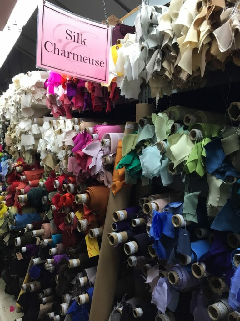 Fabric shopping for a living! guest post from Rebecca Frey