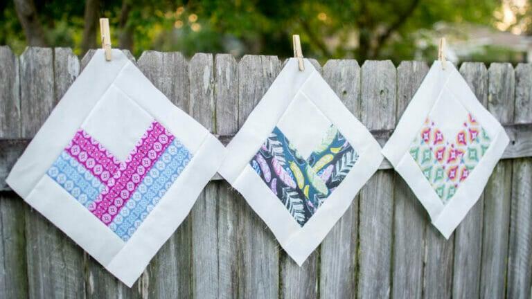 Classic Blocks: Fresh Fabric… the On-Point Heart Block!