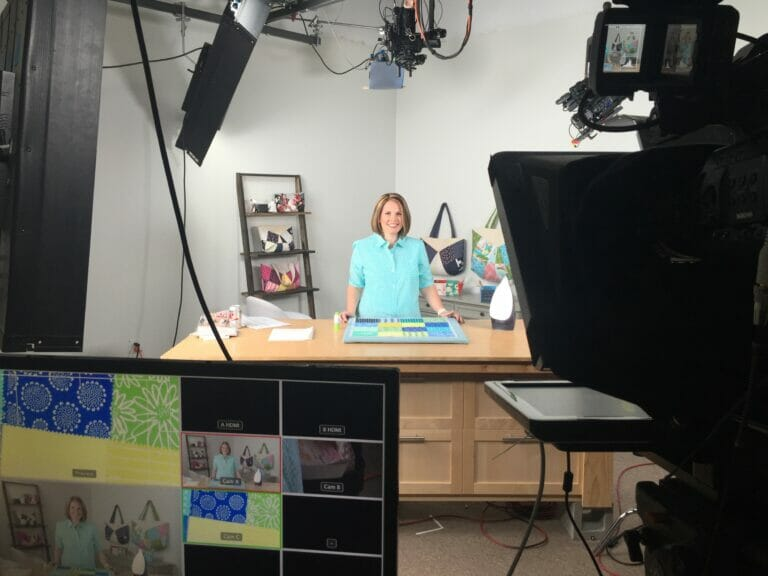 Behind the Scenes at my New Craftsy Class!