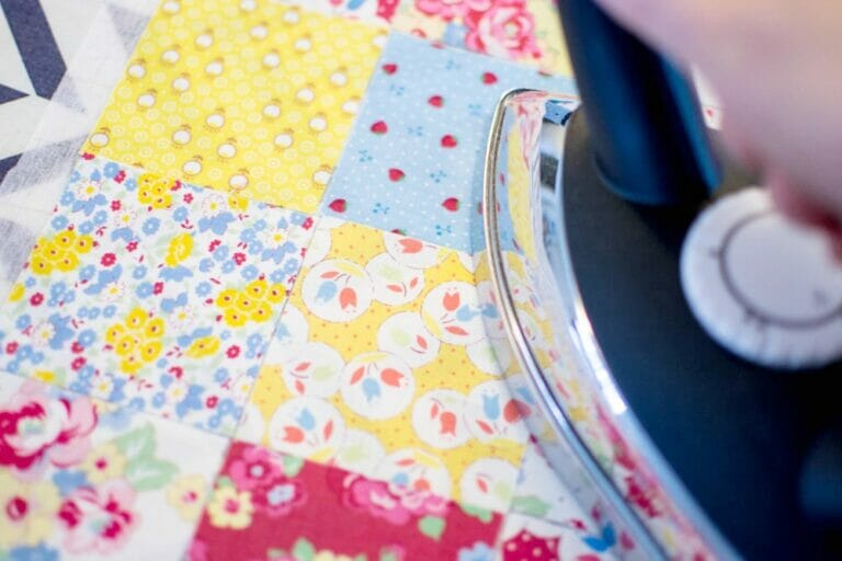 Reviewing the Maven 100IS Iron in my new sewing studio!