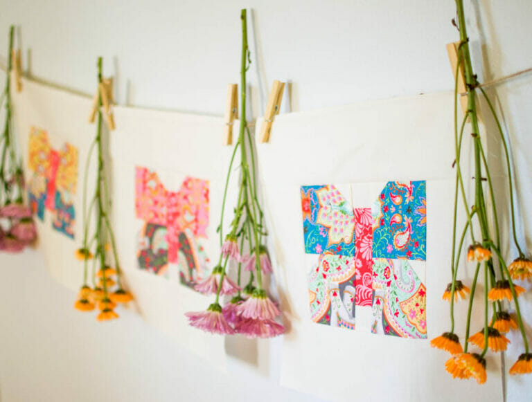 Classic Blocks: Fresh Fabric… a Butterfly Quilt Block Tutorial