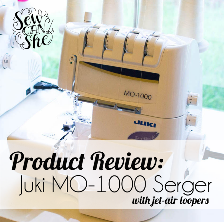 Product Review: Juki MO-1000 Serger (with jet-air loopers)