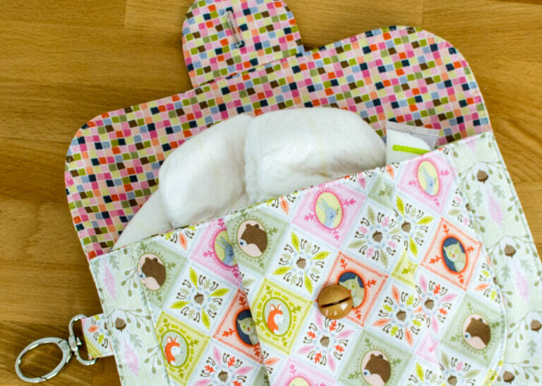How to sew a partly handmade, completely practical baby gift