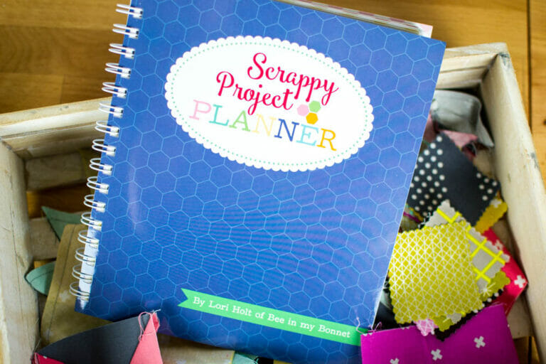 Book Review: Lori Holt's Scrappy Project Planner