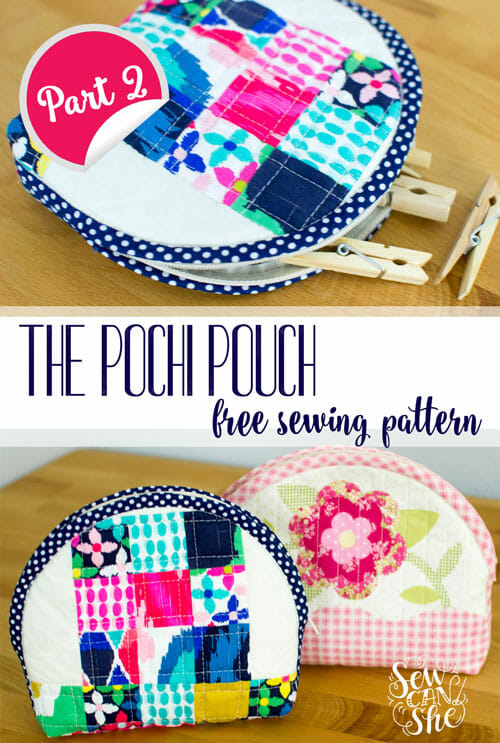 Free Pattern and Tutorial: The Pochi Pouch {part 2}