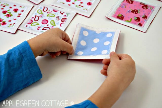 How to Sew a Fabric Scrap Memory Game!