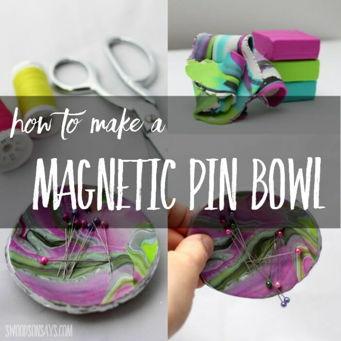How to Make a DIY Magnetic Pin Bowl!